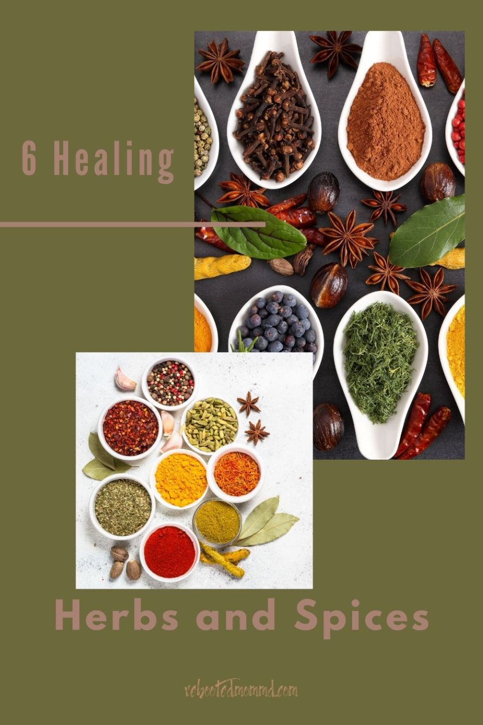 Six Healing Herbs and Spices