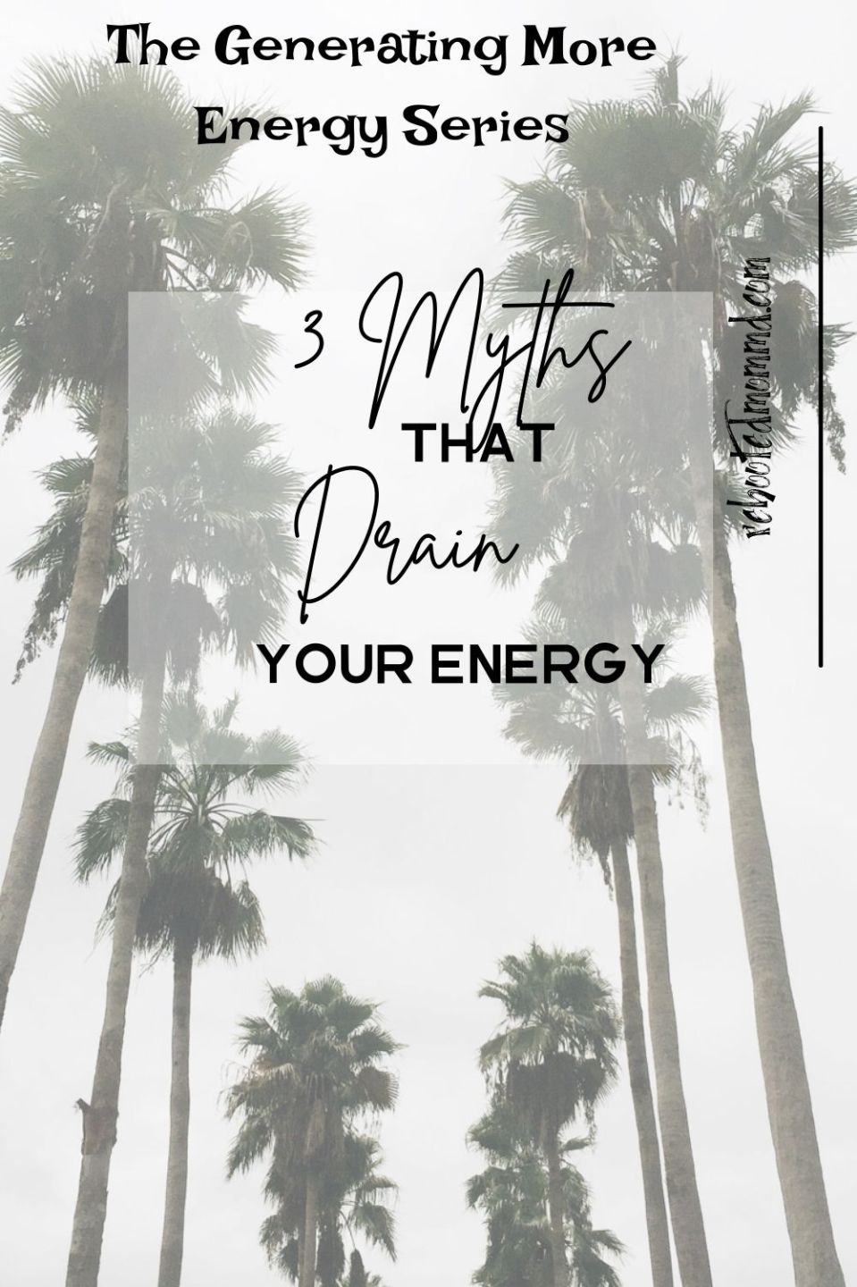 3 Myths that Rob your Energy