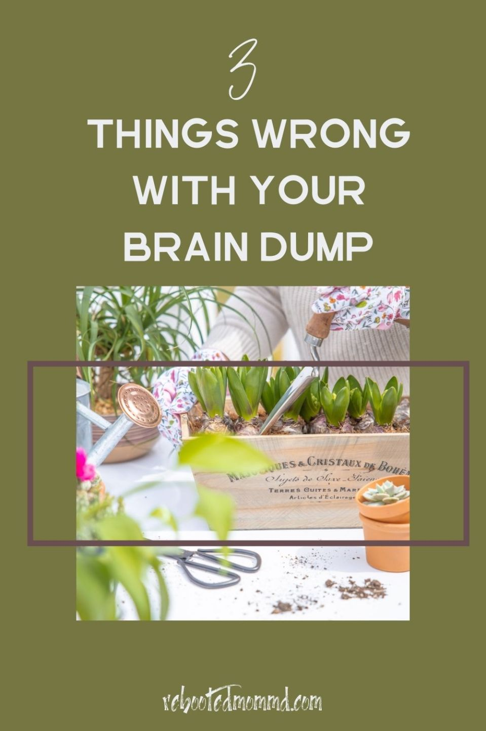 3 Things You Are Doing Wrong with Your Brain Dump