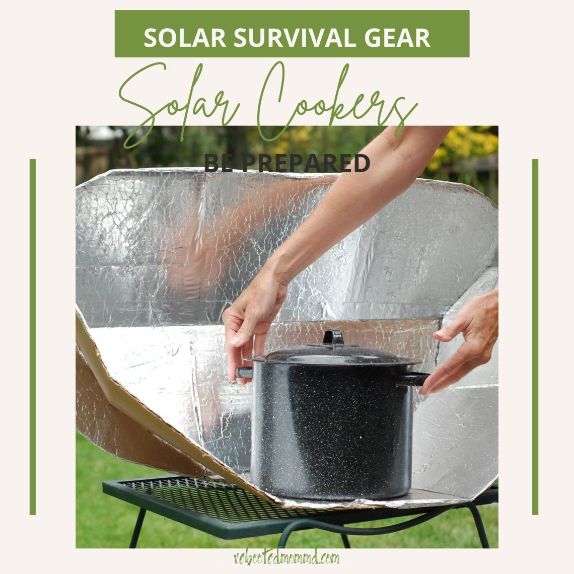 survival solar cookers