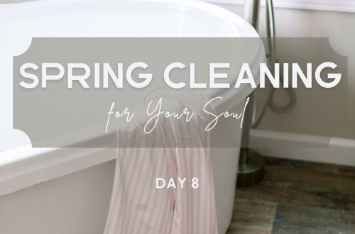 spring cleaning mental clutter