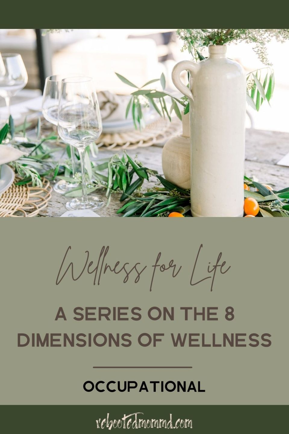 Occupational Wellness: Fulfillment in Our Work Lives