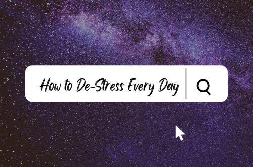 de-stress every day