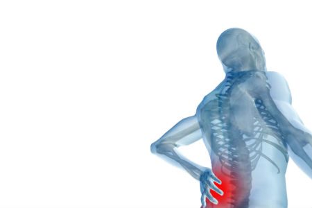Back pain, common after cool months