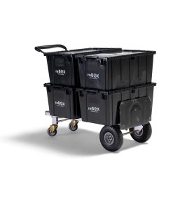 aluminum moving dolly converted to hand cart with 1000lbs capacity and never flat tires