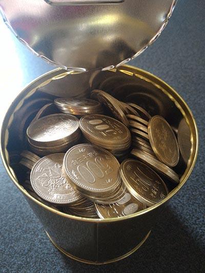 10万円貯まる貯金箱開封の儀