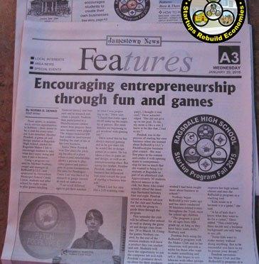 MEDIA: Jamestown News profiles RHS Fall 2015 Program