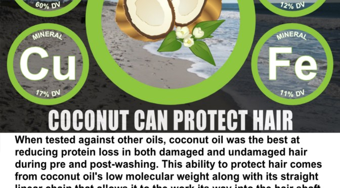 Coconut Can Protect Hair