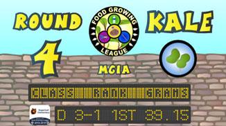 Round 4 Championship (Kale) 2018-2019 Fall Season – Food Growing League – ReBuildUp