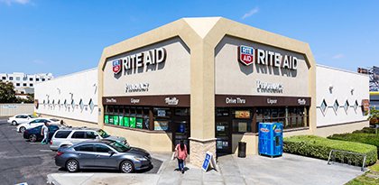 Rite Aid occupies the 12,573-square-foot retail property at 959 Crenshaw Blvd. in Los Angeles.