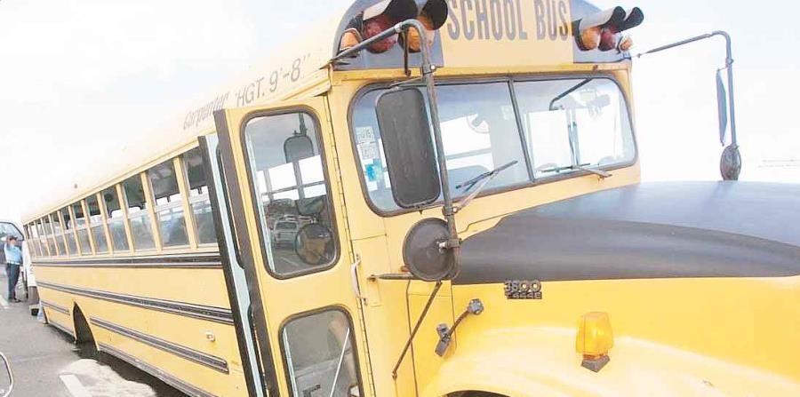 El accidente de la guagua escolar fue reportado a eso de la 1:05 p.m. a través del Servicio de Emergencias 9-1-1.(GFR Media) (horizontal-x3)