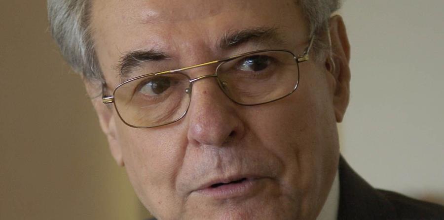 Baltasar Corrada del Río fue comisionado residente en Washington del 1977 al 1985. (horizontal-x3)