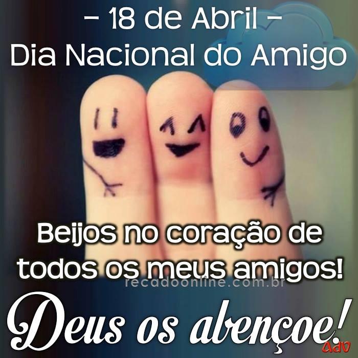 18 04 dia nacional do amigo