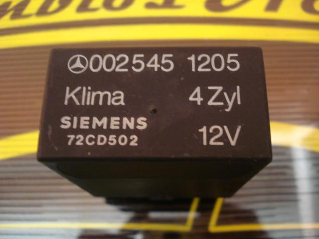 Unidad de control climático  Mercedes 0025451205 SIEMENS 72CD502