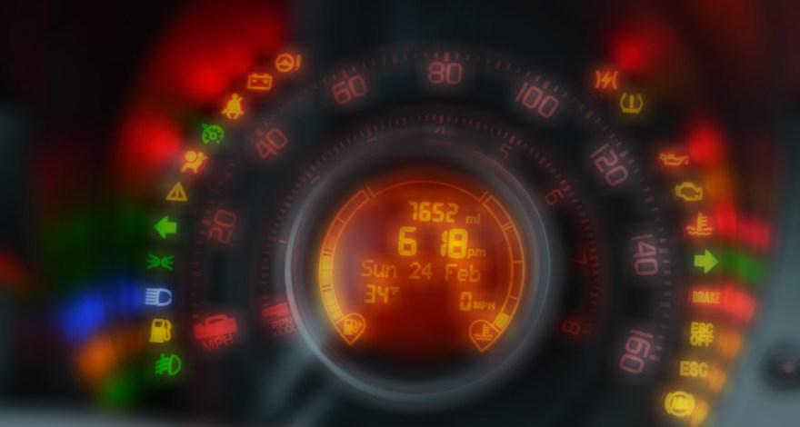 Se ha encendido una luz en mi cuadro de mandos Qué significa-recambios infra