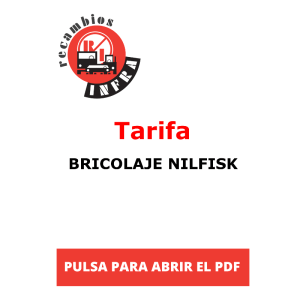 recambios-infra-BRICOLAJE NILFISK