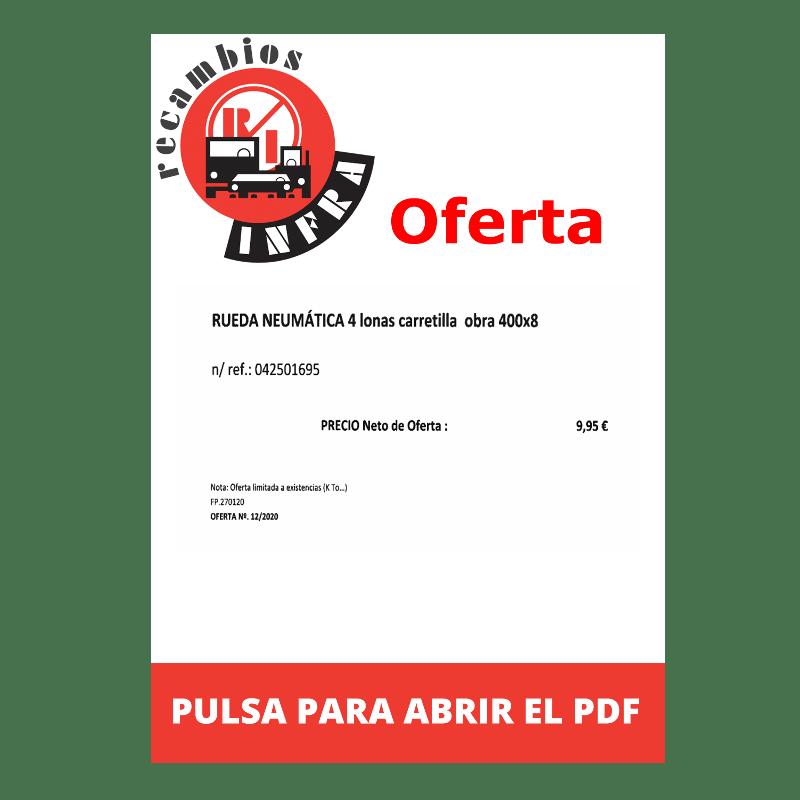 recambios-infra-RUEDA NEUMATICA