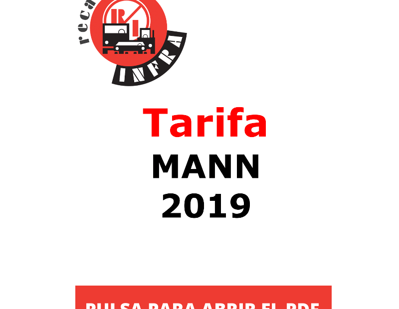 recambios-infra-TARIFA-MANN 2019