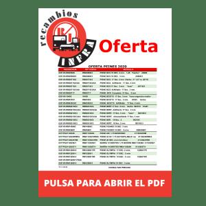 recambios-infra-PEINES-Netos-Peines-2020 para RecambiosInfra.com