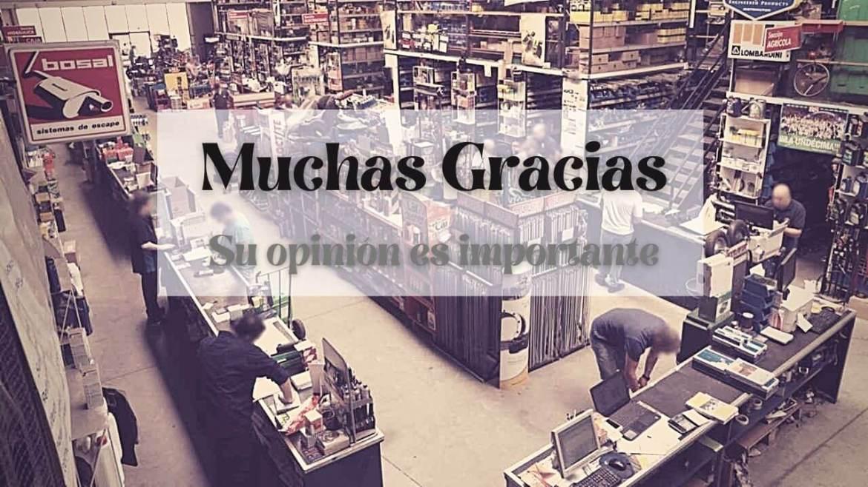 Muchas gracias. Tu opinión es importante.