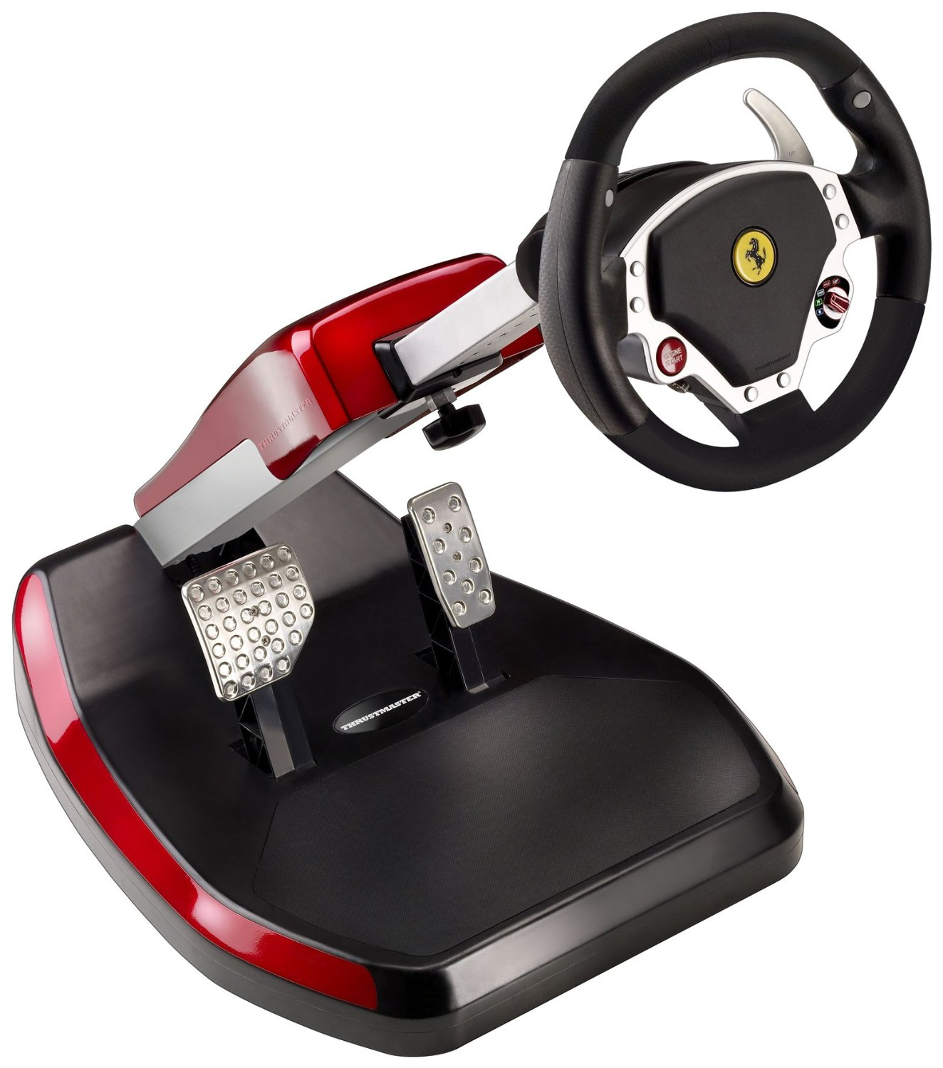 volante y pedales ps3 thrustmaster compatible con pc. Black Bedroom Furniture Sets. Home Design Ideas