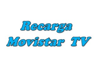 Recarga Movistar TV