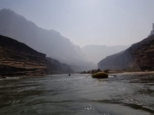 Rowing Down The Colorado River