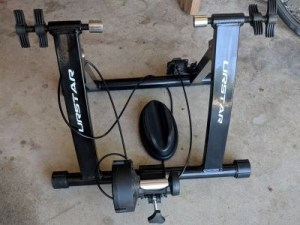 Indoor Bicycle Trainer I used when I followed my beginners ironman training plan