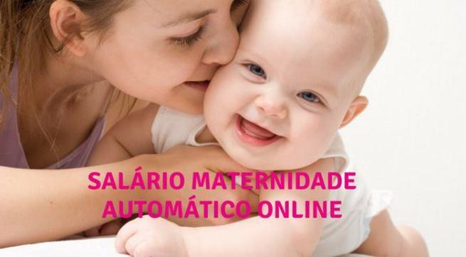 salario maternidade online e automático