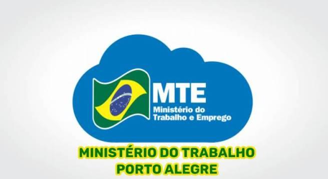 Ministério do Trabalho Porto Alegre (RS)