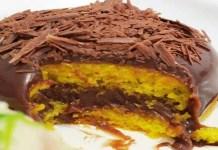 Receita de Bolo de Cenoura com Cobertura de Nutella