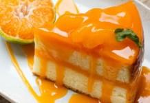 Receita de Bolo de laranja com calda