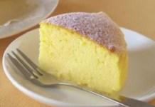 Receita de Cheesecake Japonês com apenas 3 ingredientes