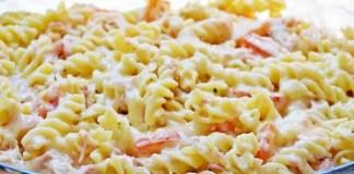 Receita de Macarrão de Pizza