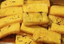 Receita de Mandioca Frita Cremosa