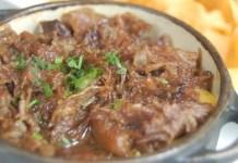 Receita de Rabada com Funghi Porcini e Purê