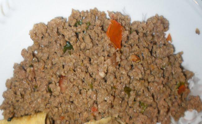 Receita de Recheio de Carne para Salgados