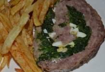 Receita de Rolo de Carne com Espinafres