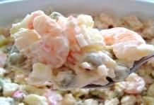 Receita de Salada de Camarão Rápida