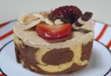 Receita de Torta mousse de capuccino