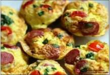 Receita de Bolinhos de Omelete