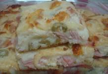 Receita de Torta de Queijo Presunto e Frango