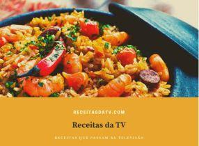 Receitas da TV frutos do mar