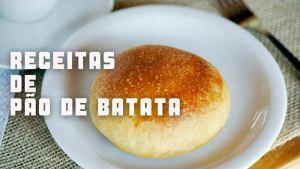 Receitas da TV pão de batata