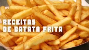 Receitas da TV de batata frita