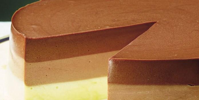 tricolor de chocolate