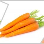 Salada prática de vagem e cenoura