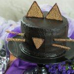Bolo Gato Preto – 2 Chocolates