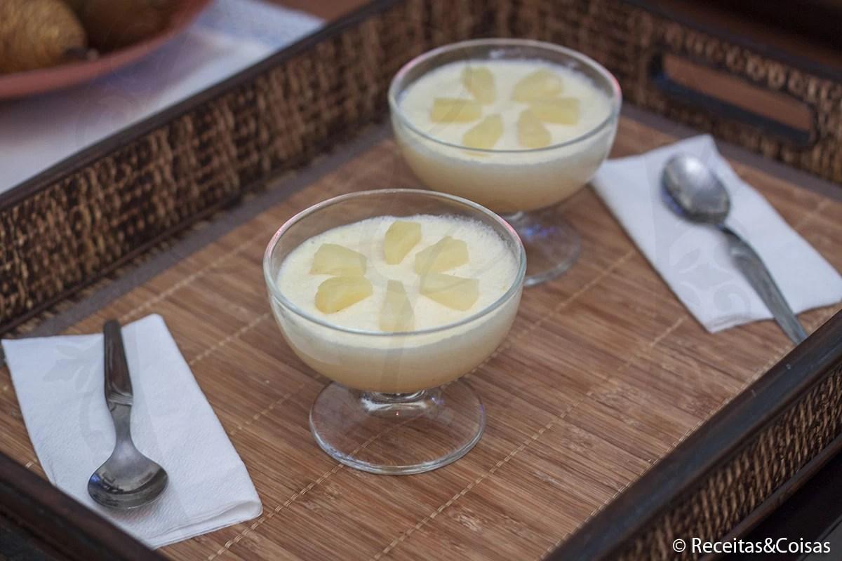 Mousse de ananás