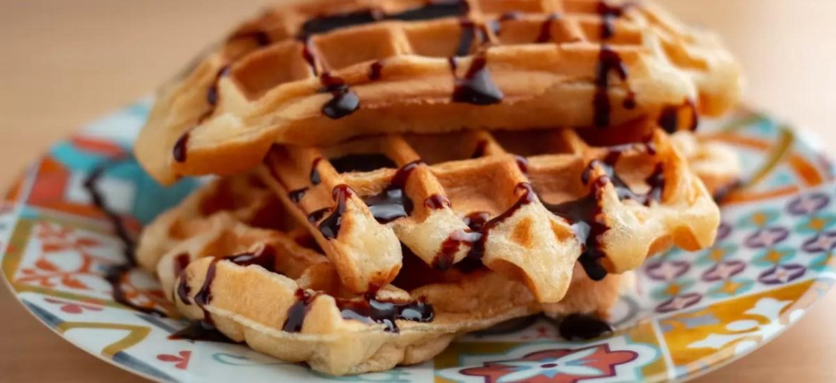 Waffle Belga sem glúten